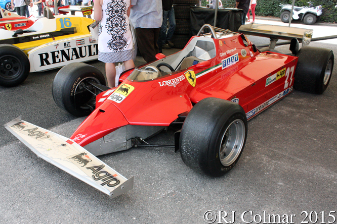 Ferrari 126 CK, Goodwood Festival Of Speed,