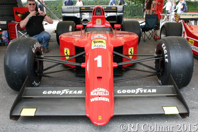 Ferrari 641, Goodwood Festival Of Speed,
