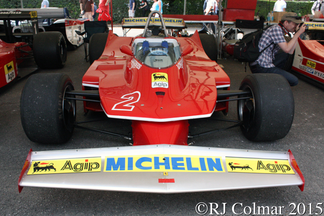 Ferrari 312 T5, Goodwood Festival Of Speed,