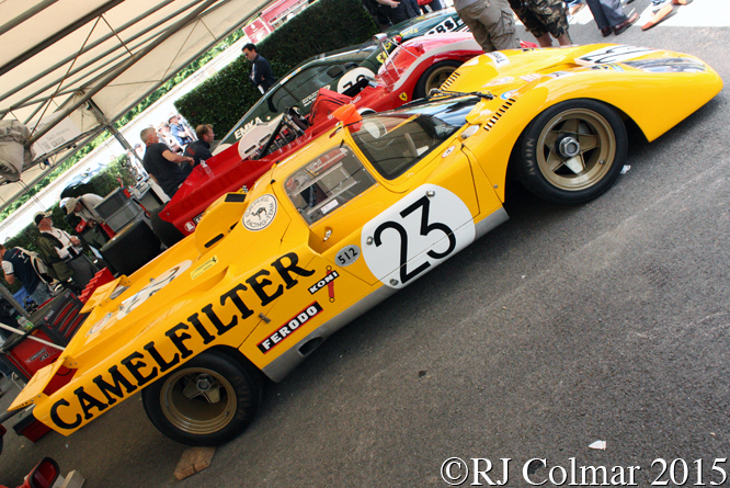 Ferrari 512 M, Goodwood Festival of Speed,