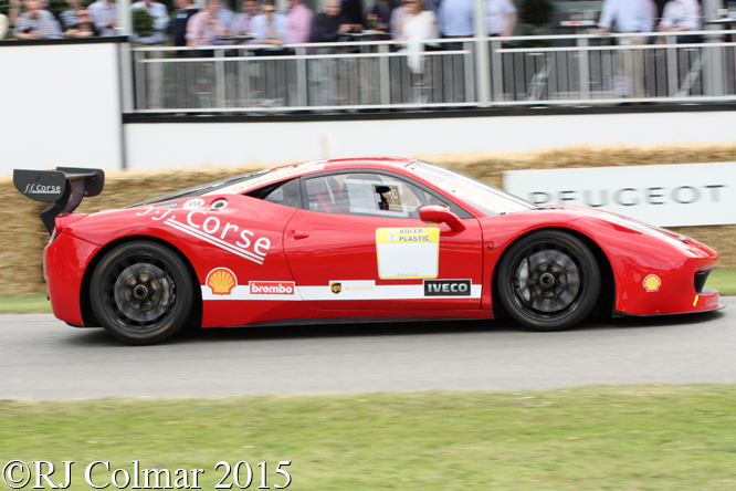Ferrari 458 GT3, Goodwood Festival of Speed,