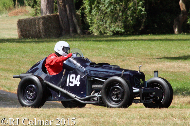 Fairley Mercury, Jim Payne, Chateau Impney Hill Climb