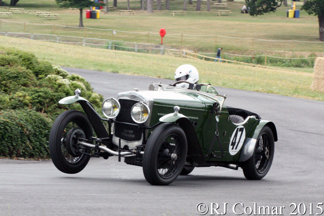Frazer Nash TT Replica, Chris Batty, Chateau Impney Hill Climb