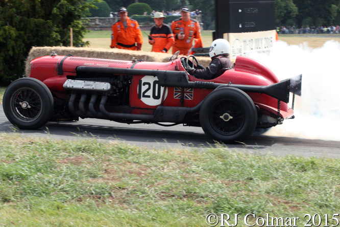 Napier Bentley, Chris Williams, Chateau Impney Hill Climb