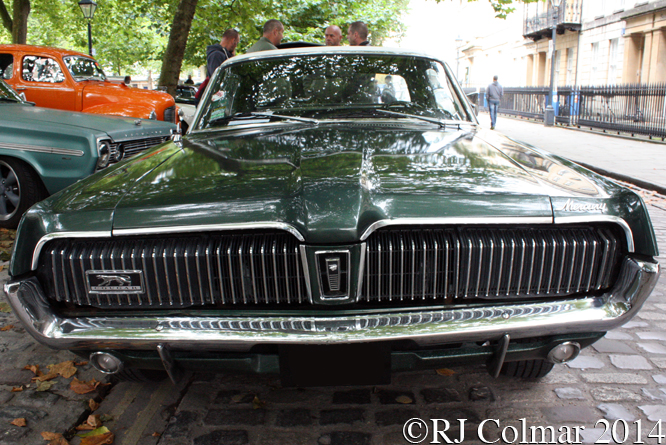 Mercury Cougar, Avenue Drivers Club, Queen Square, Bristol