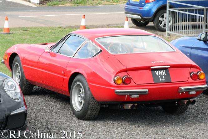 Ferrari 365 GTB/4, Silverstone Classic,