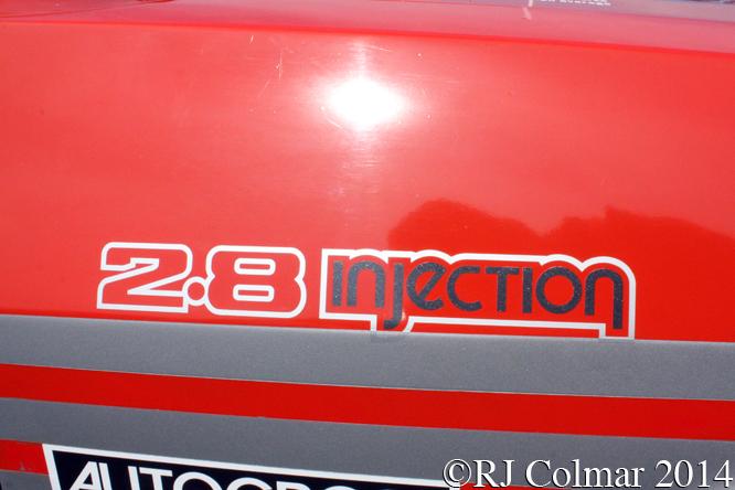 Ford Capri 2.8i, Silverstone Classic
