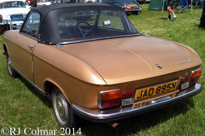 Peugeot 304 Convertible, Bristol and South Gloucestershire Stationary Engine Club Rally