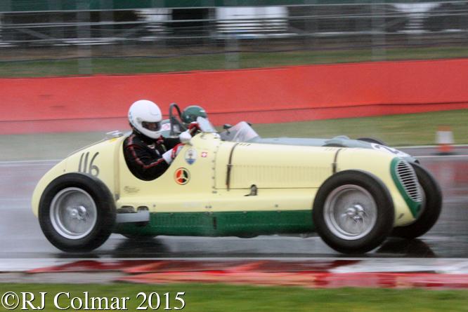 Maserati 6CM, Urs Muller, Silverstone Classic