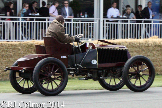 Renault Type K, Eric Leroux, Goodwood Festival of Speed
