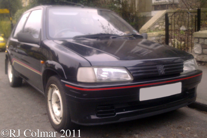 Peugeot 106 Rallye, Bristol