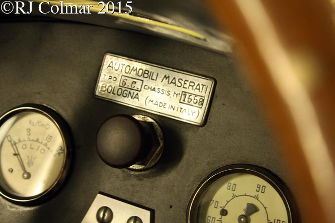 Maserati 6CM, Silverstone Classic