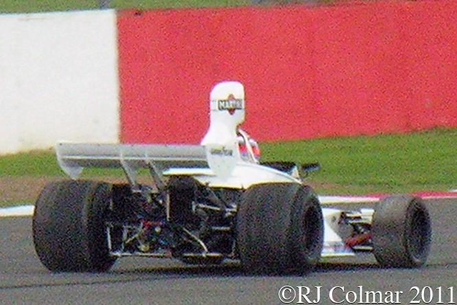 Brabham Cosworth BT42, Manfredo Rossi di Montelera, Silverstone Classic,