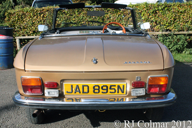 Peuget 304 Convertible, Castle Combe,
