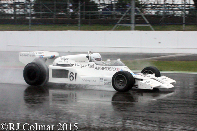 Shadow DN8, Jason Wright, Silverstone Classic,