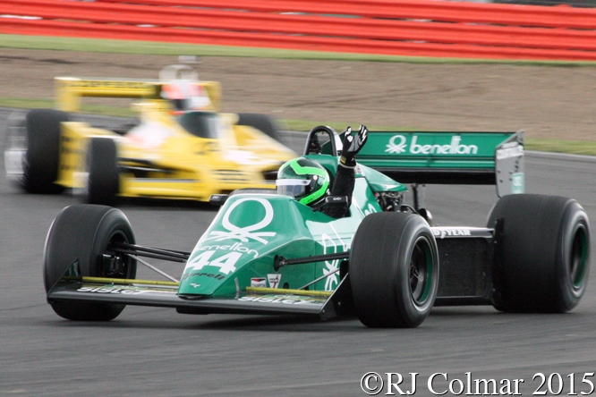 Tyrrell 012, Martin Stretton, Silverstone Classic