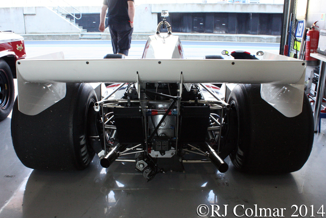 Hesketh 308C, Silverstone Classic,