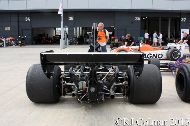 Shadow DN5, Silverstone Classic,
