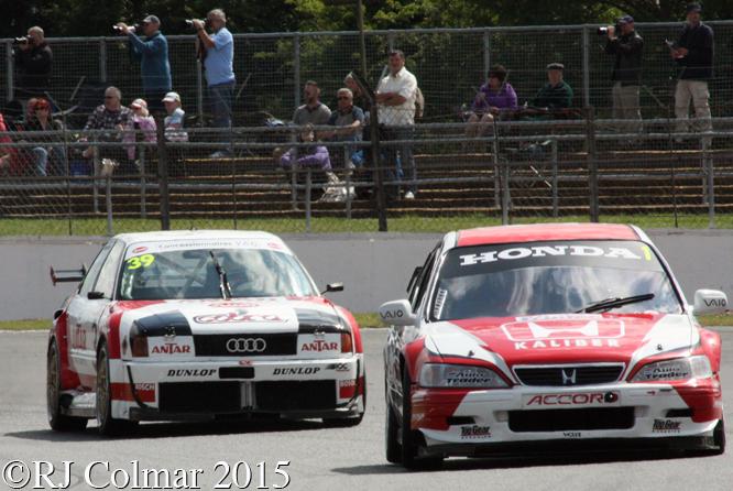 Honda Dodd, Audi, Wrathall, Silverstone Classic,