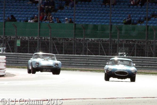 Jaguar, Nicholl-Jones, TVR, Whitaker, Silverstone Classic,