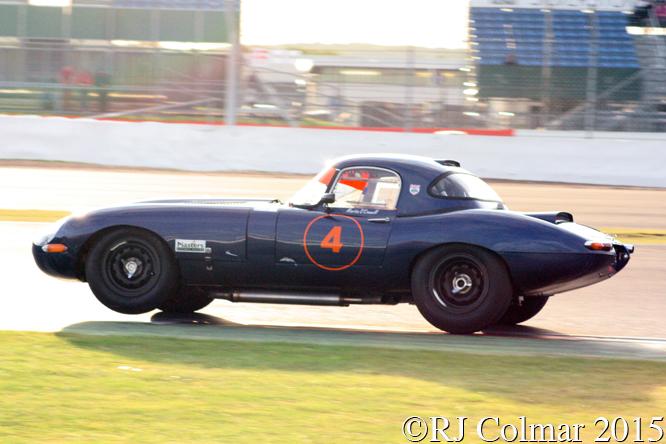 Jaguar E-Type, Martin O'Connell, Silverstone Classic