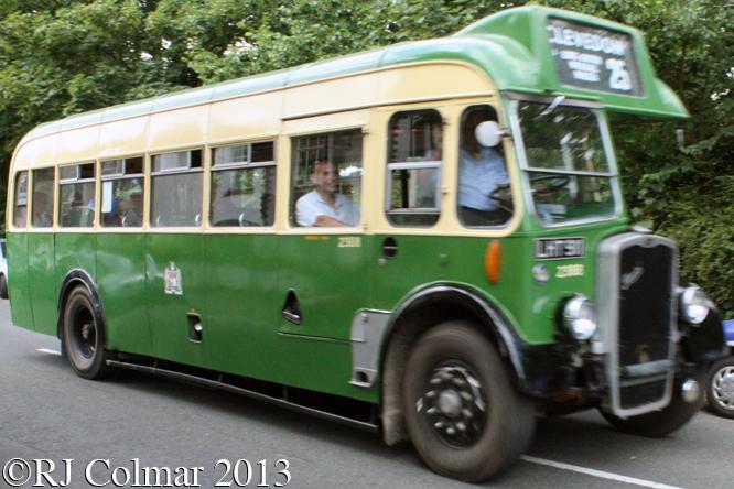 Bristol L5G, Frenchay Car Show, Bristol,