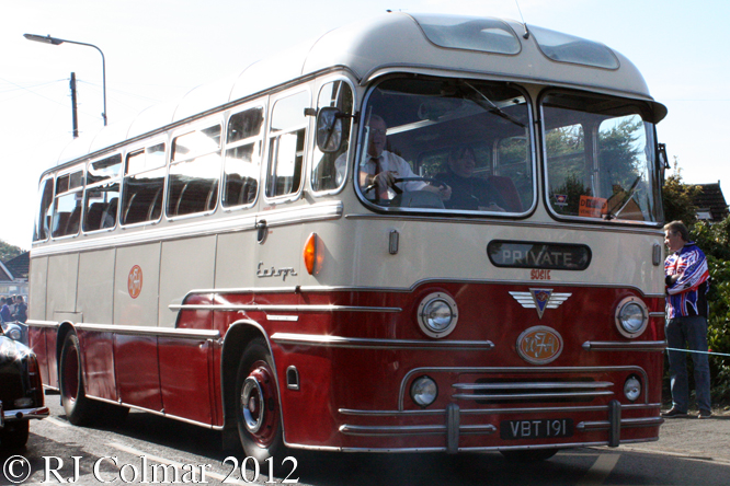 AEC Reliance MU3RV, BRM Day, Bourne, Lincs,