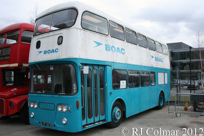 Leyland Atlantean, Brooklands Museum,