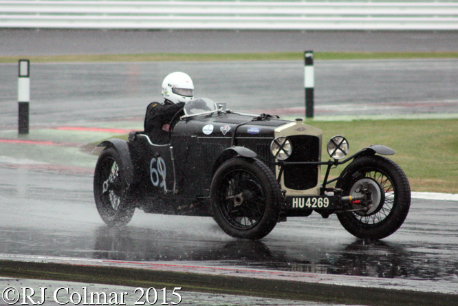 Frazer Nash Supersports, Hall / Grant Peterkin, Silverstone Classic