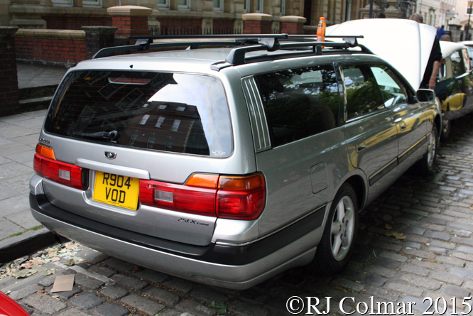 Nissan Stagea, Avenue Drivers Club, Queen Square, Bristol