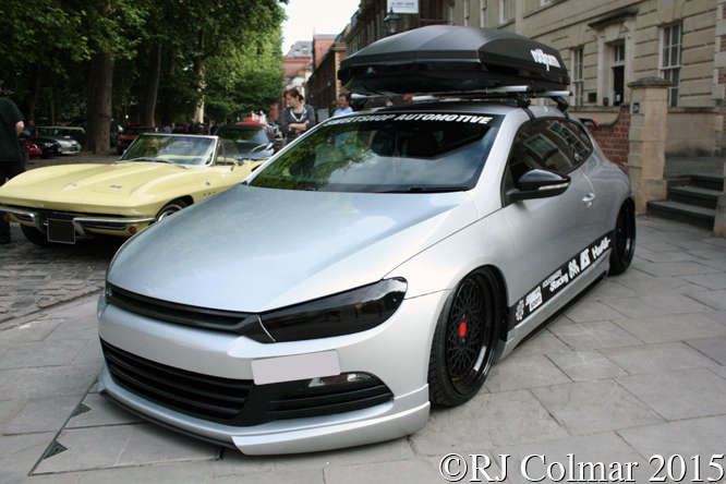 Volkswagen Scirocco, Avenue Drivers Club, Queen Square, Bristol