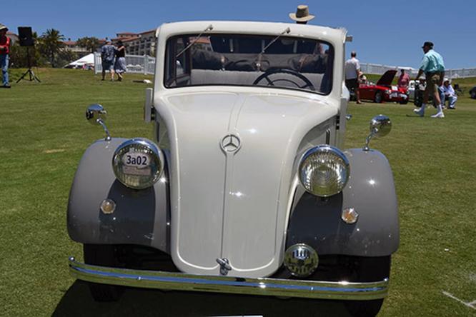 Mercedes Benz 130 H Cabriolet, Dana Point Concours d'Elegance