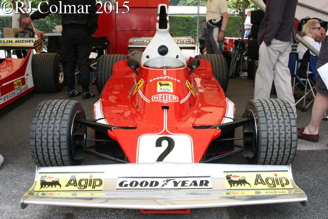 Ferrari 312T, Goodwood Festival of Speed,