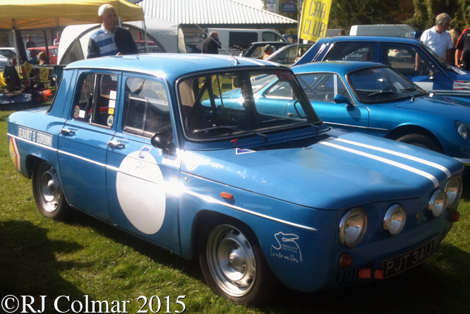 Renault R8 Gordini, Rally Day, Castle Combe,