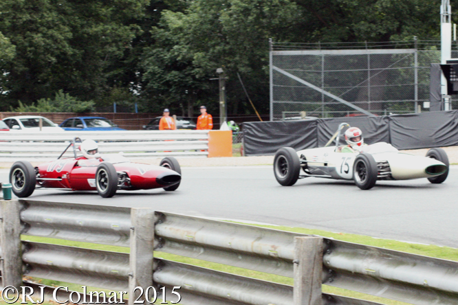 Lightening Envoyette, Peter Moreton, Lotus 22 Andy Hibberd, Gold Cup, Oulton Park,