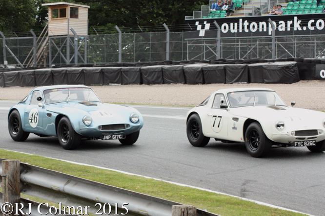 TVR Griffith, Gardner/Cox, Mike Whitaker, Gold Cup, Oulton Park,