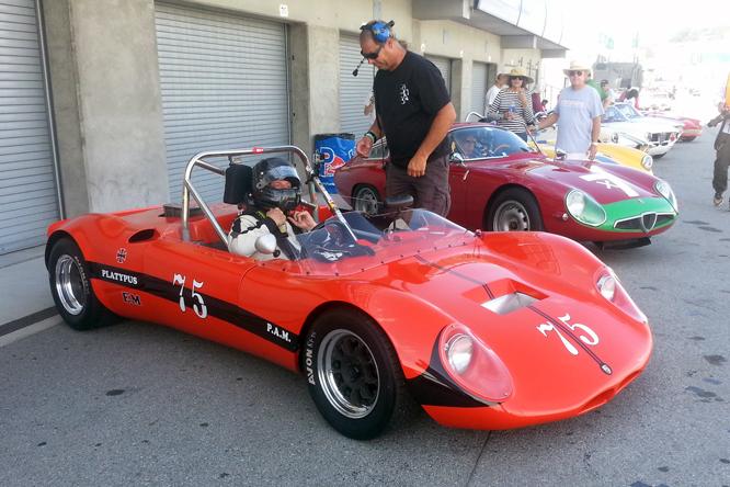 PAM Platypus Porsche, Rolex Monterey Motorsports Reunion,