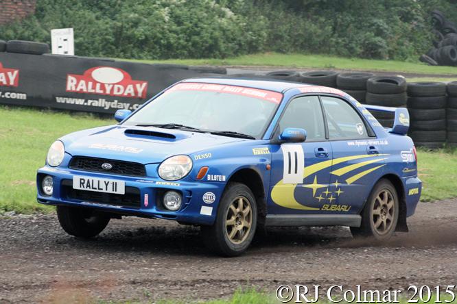 Subaru Impreza WRX, Richard Knott, Rally Day, Castle Combe