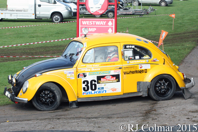 Volkswagen 1200, Bob Beales, Rally Day, Castle Combe