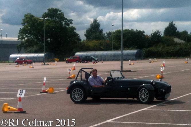 Westfield SEiW, Andy Moss, Rolls Royce Car Park, Filton