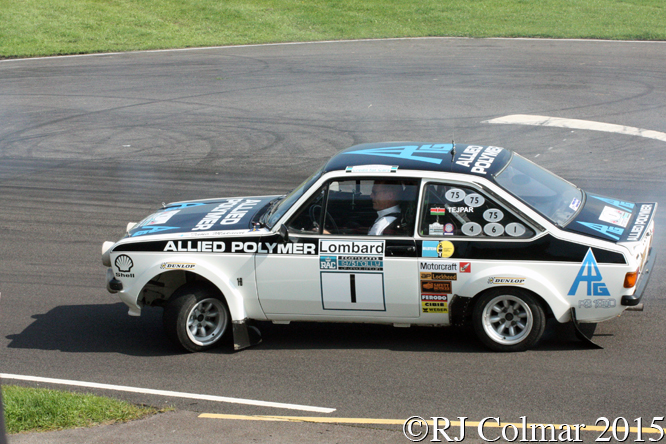 Ari Vatanen, Ford Escort RS100, Rally Day, Castle Combe