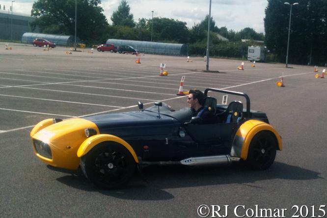 Westfield SEiW, Ben Bishop, Rolls Royce Car Park, Filton