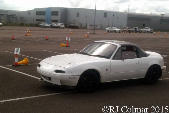 Mazda MX5, Chris Buckley, Rolls Royce Car Park, Filton