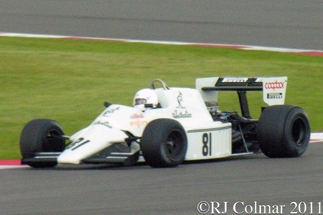 Spirit Cosworth 101D, Mark Williams, Silverstone Classic,
