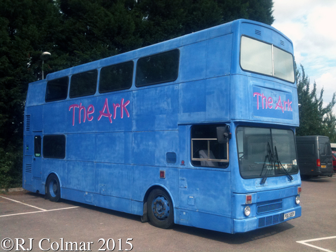 MCW Metrobus MkII, Rolls Royce Car Park, Filton