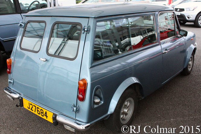Austin Mini Clubman Wood & Pickett Estate, Silverstone Classic,