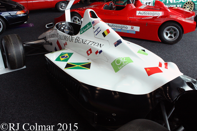 Toleman Hart TG185, Silverstone Auction