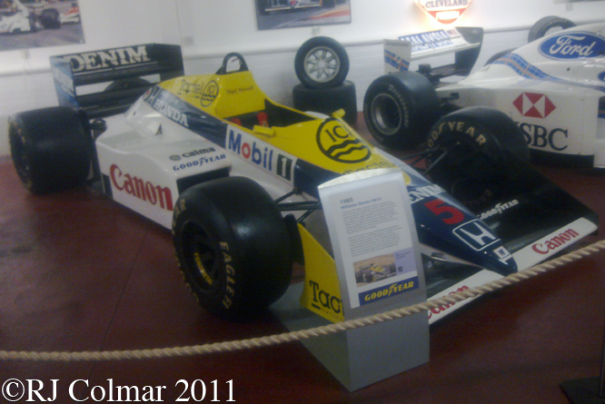 Williams Honda FW10, Donington Park Museum
