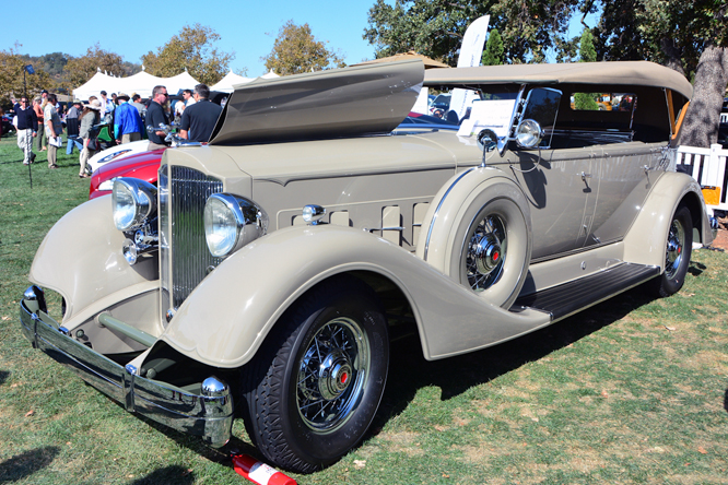 Packard 1104 Super Eight Dual Cowl Phaeton, Niello at Serrano,