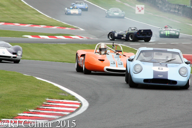 Chevron B6, Nick Thompson, Sean McClurg, Gold Cup, Oulton Park